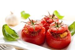 faszerujący pomidory zdjęcie royalty free