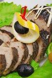 faszerująca rybia cytryna Fotografia Stock