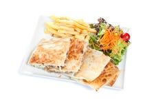 faszerujący tortilla Fotografia Stock