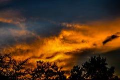 Faszinierender Himmel Stockfotos