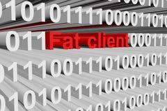 FAT客户端 免版税库存照片