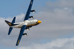 Fat Albert Transporter in the Sky Royalty Free Stock Image