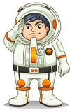 A fat astronaut Royalty Free Stock Photos