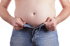 Fat Belly Stock Photography