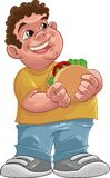 Fat boy Royalty Free Stock Images