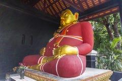 Fat buddha in Chiang Mai Stock Photo