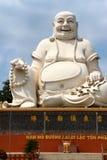 Fat Buddha head Stock Image