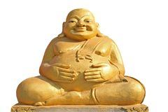 Fat Buddha Statue Stock Photography