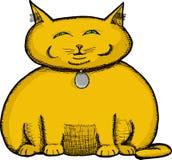 Fat Cat Stock Image