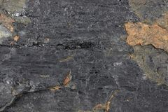 Fat coal. Extracted from Saarland/ Germany for background use Stock Photos