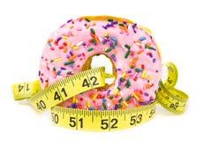 Fat Donut - Unhealthy Food Royalty Free Stock Photos