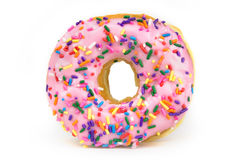 Fat Donut - Unhealthy Food Royalty Free Stock Images