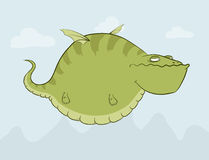 Fat dragon Stock Photography