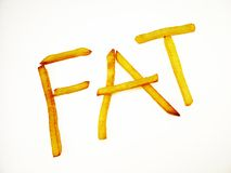 Fat Finger Chips Royalty Free Stock Image