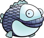 Fat Fish vector illustration