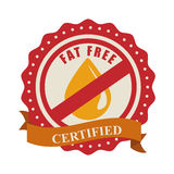 Fat free design Royalty Free Stock Photography