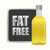 Fat free design Royalty Free Stock Photo