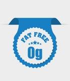 Fat free design. Stock Photos