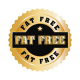 Fat free design. Royalty Free Stock Images