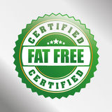 Fat free design. Royalty Free Stock Photos