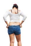 Fat girl Royalty Free Stock Photo