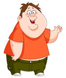 Fat kid Royalty Free Stock Photo