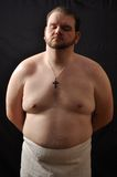 Fat man Royalty Free Stock Photo