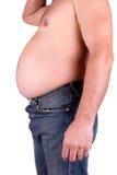 Fat man stock photos
