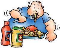 Fat man Royalty Free Stock Photo