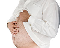 Fat man Stock Photography