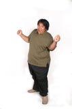 Fat man royalty free stock photography