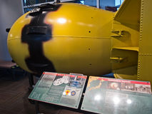 Fat Man. Atomic bomb detonated over Nagasaki Stock Photography