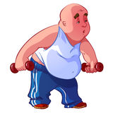 Fat man Royalty Free Stock Photos