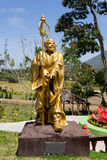 Fat monk statue in complex Pagoda Ekayana Royalty Free Stock Photo