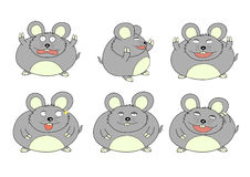 Fat mouse Stock Photography
