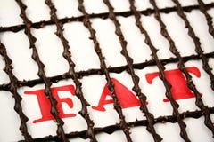 FAT na cadeia Imagem de Stock Royalty Free