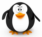 Fat penguin Stock Photography