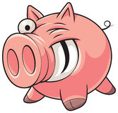 Fat pig Royalty Free Stock Photos