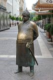 The Fat Policeman Budapest stock photos