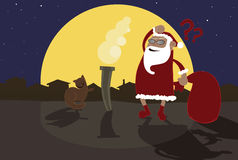 Fat santa Stock Images