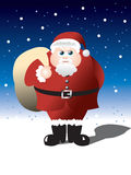 Fat Santa Stock Photography