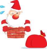 Fat Santa Claus Stock Photos