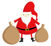 Fat Santa Royalty Free Stock Image