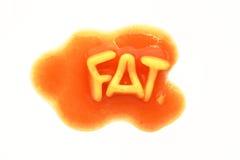 Fat Spaghetti Royalty Free Stock Photos