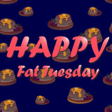 Fat Tuesday celebration Royalty Free Stock Images