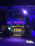 Fat Tuesday Night Club, Orlando, Florida Stock Images