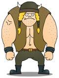 Fat viking. A standing fat viking.eps 8 file Stock Photo