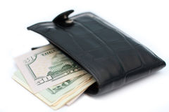 Fat wallet Royalty Free Stock Photography