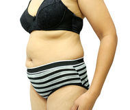 Fat women Stock Images