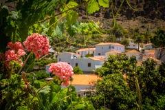 Fataga-Dorf stockbilder